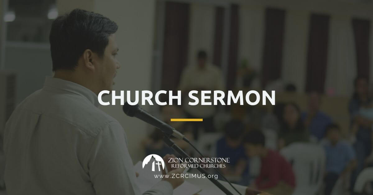 Reformed Church Sermon