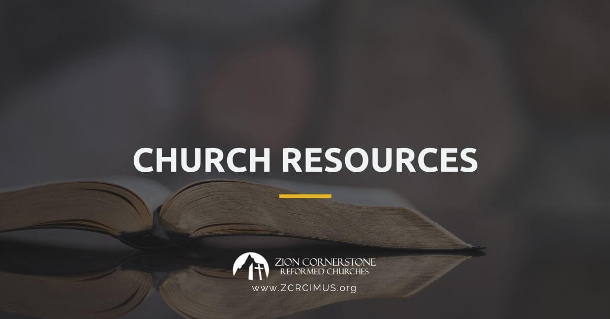 ZCRC Church Resources